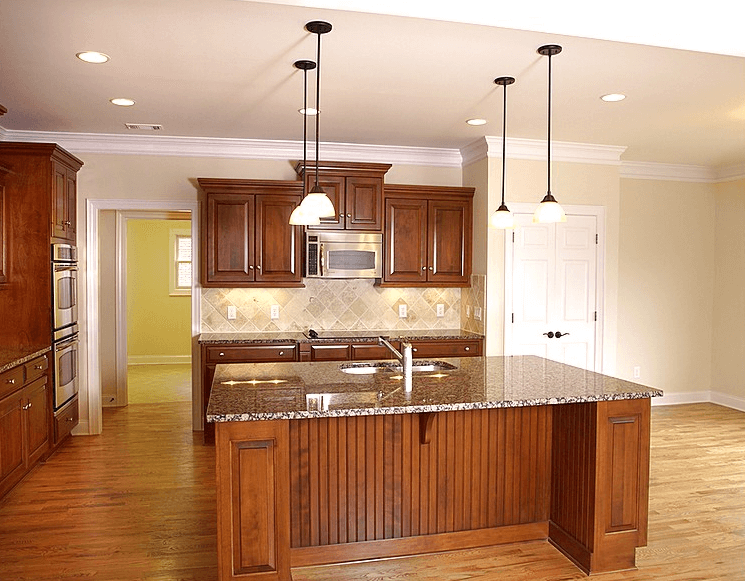 How To Apply Crown Molding To Kitchen Cabinets