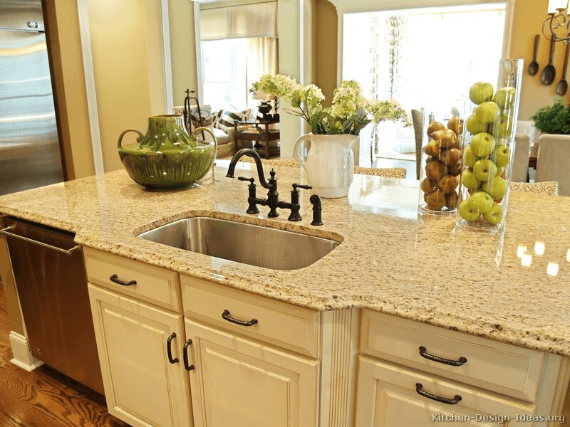 Flower and fruit for kitchen countertop decorations