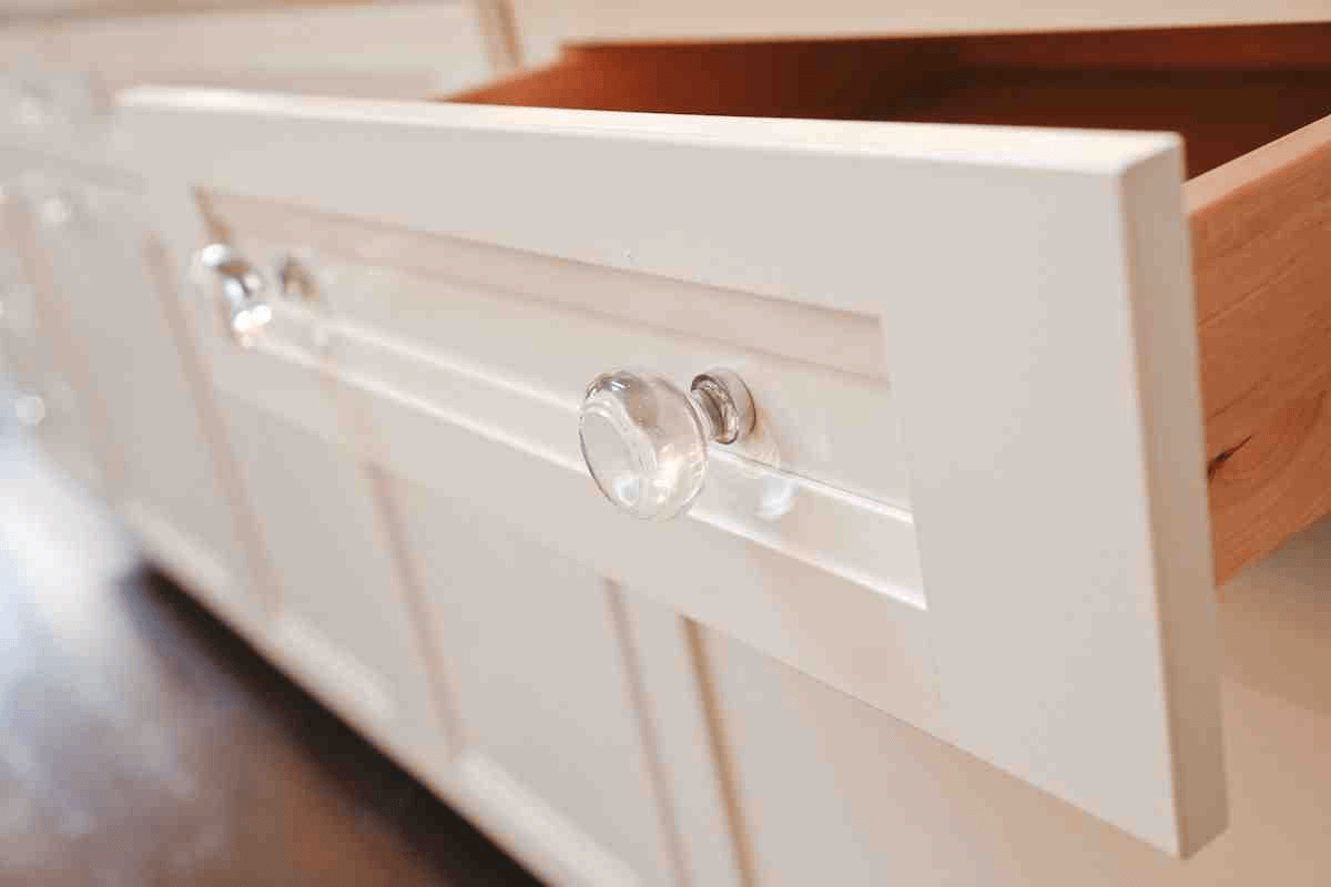 Glass kitchen cabinet door knobs