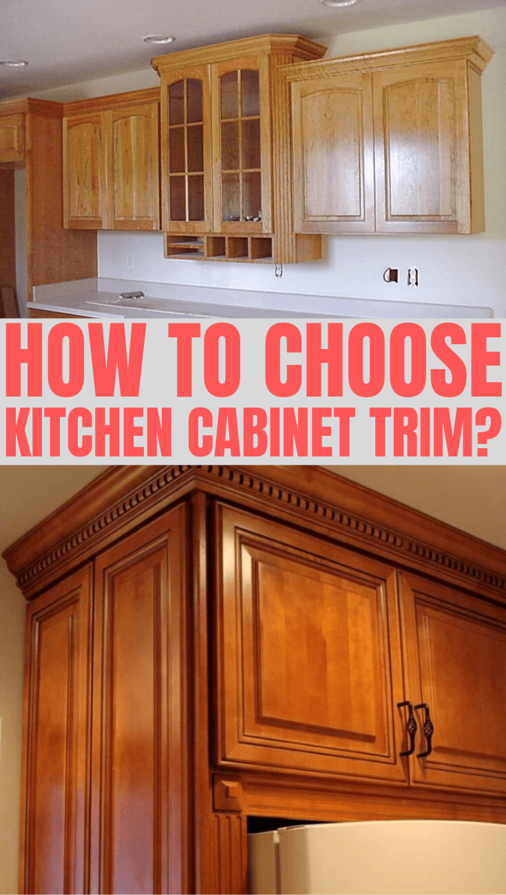 HOW TO CHOOSE KITCHEN CABINET TRIM