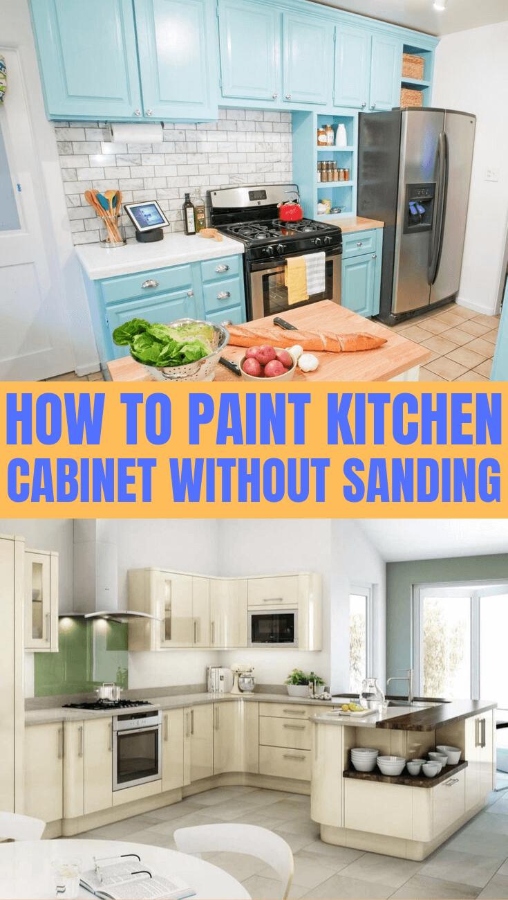8 Steps How to Paint Kitchen Cabinets without Sanding