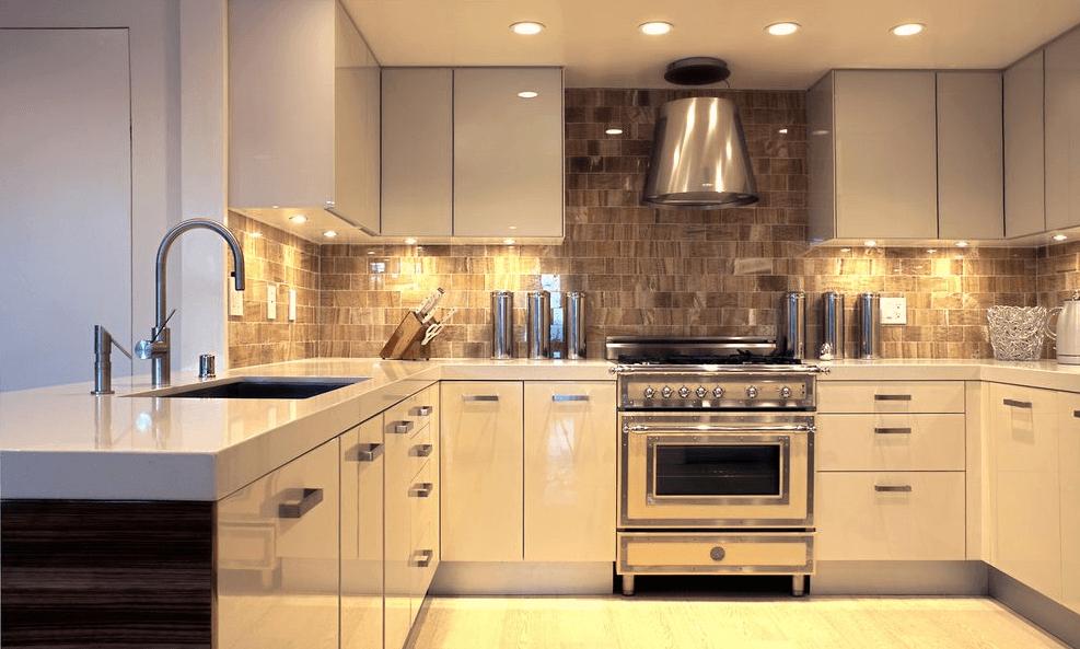 Halogen for contemporary kitchen lighting design