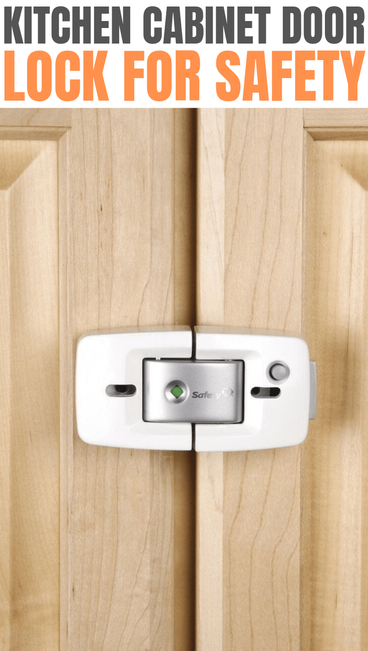 KITCHEN CABINET DOOR LOCK FOR SAFETY