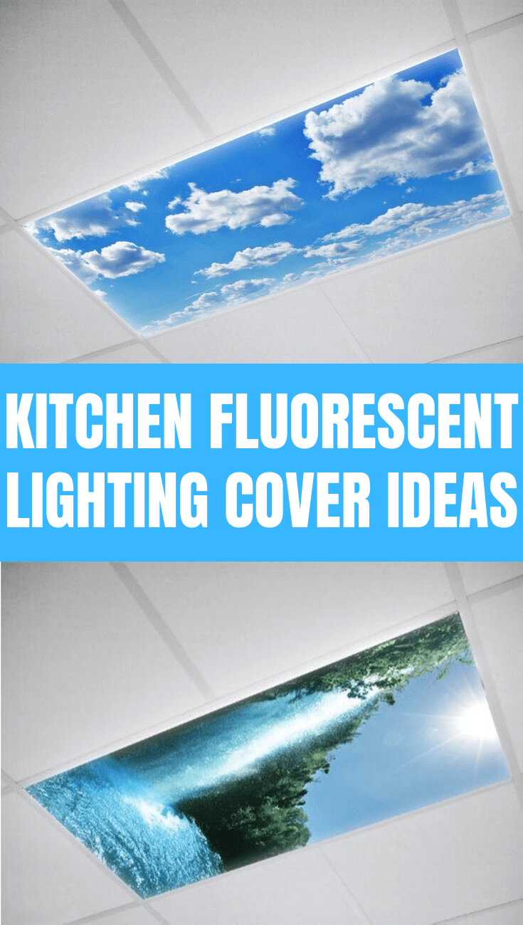KITCHEN FLUORESCENT LIGHTING COVER IDEAS