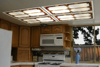 Kitchen Fluorescent Lighting Covers