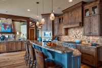 Kitchen Island Lighting Rustic