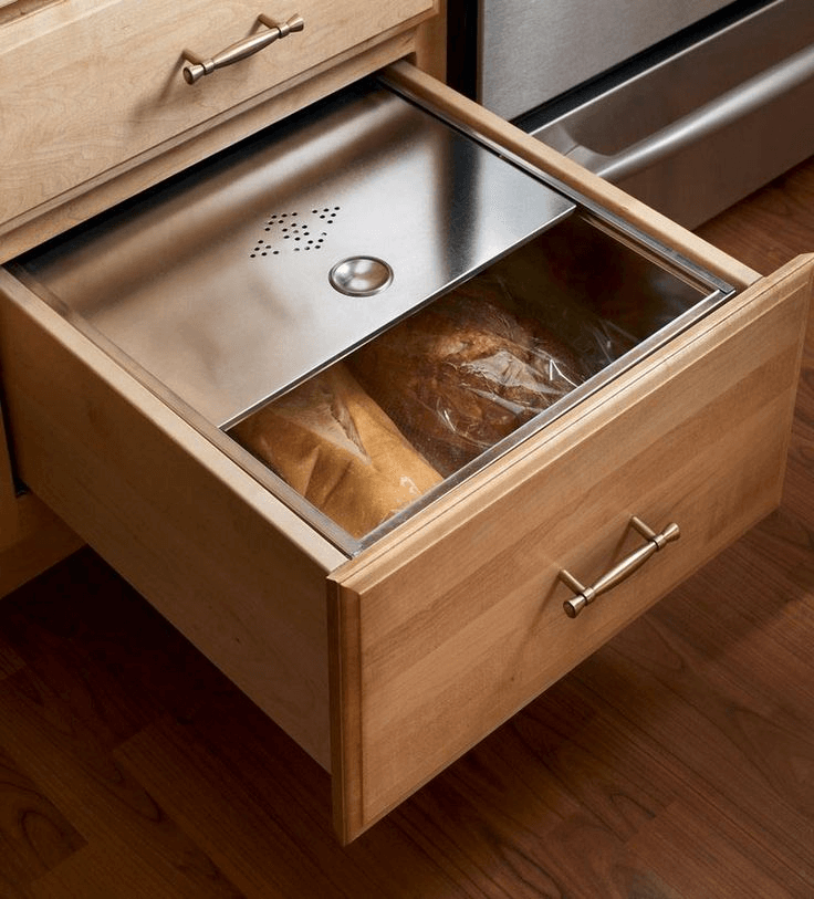Kitchen Cabinet Drawer With Top: Kitchen Cabinet Drawer Boxes Bread