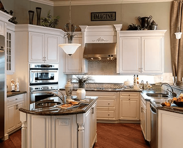 Which kitchen cabinet trim ideas do you choose for Kitchen molding ideas