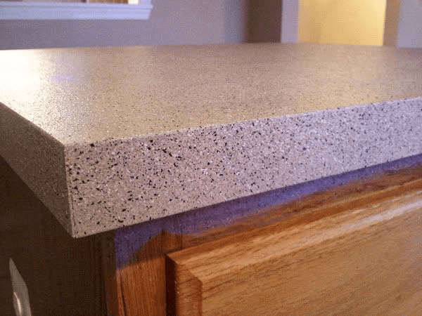 Kitchen countertop with stone spray paint colors