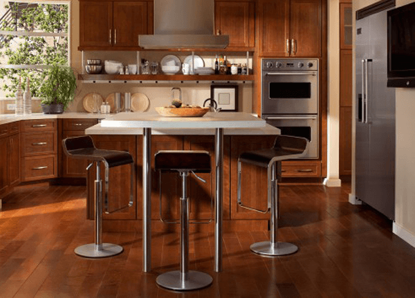Kitchen island legs metal
