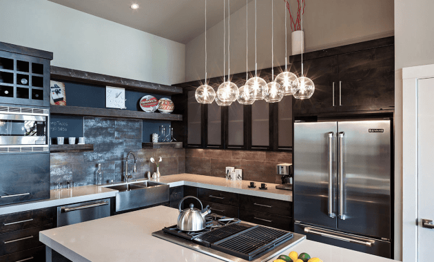 Kitchen island pendant lighting modern