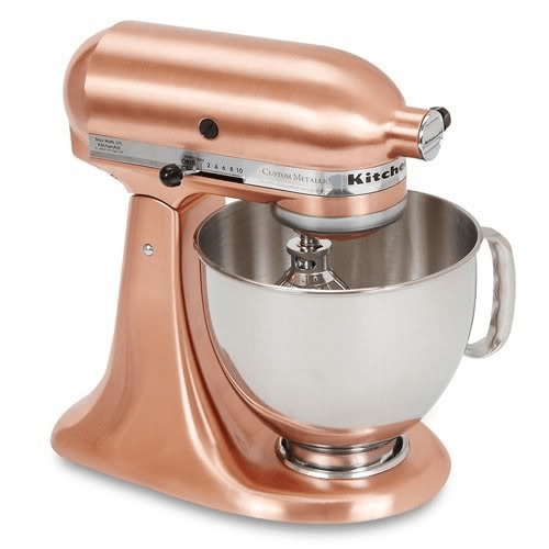 Kitchenaid mixer gold