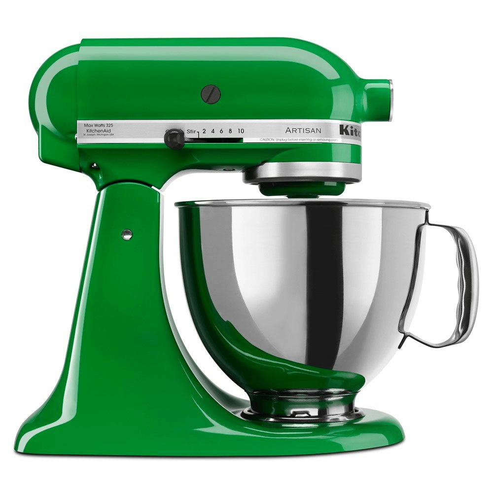 Kitchenaid mixer green