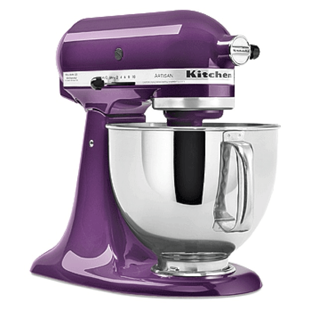 Kitchenaid mixer purple