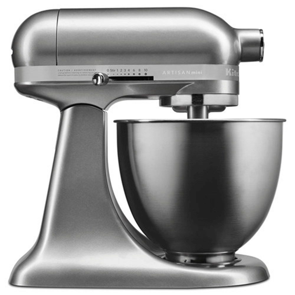 Kitchenaid mixer silver