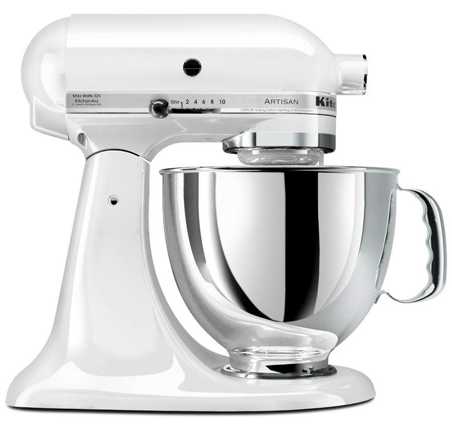 Kitchenaid mixer white