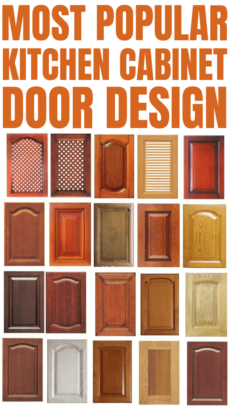 MOST POPULAR KITCHEN CABINET DOOR DESIGN
