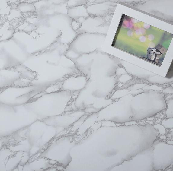 Marble sticker countertops decoration ideas