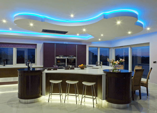Modern or contemporary with led