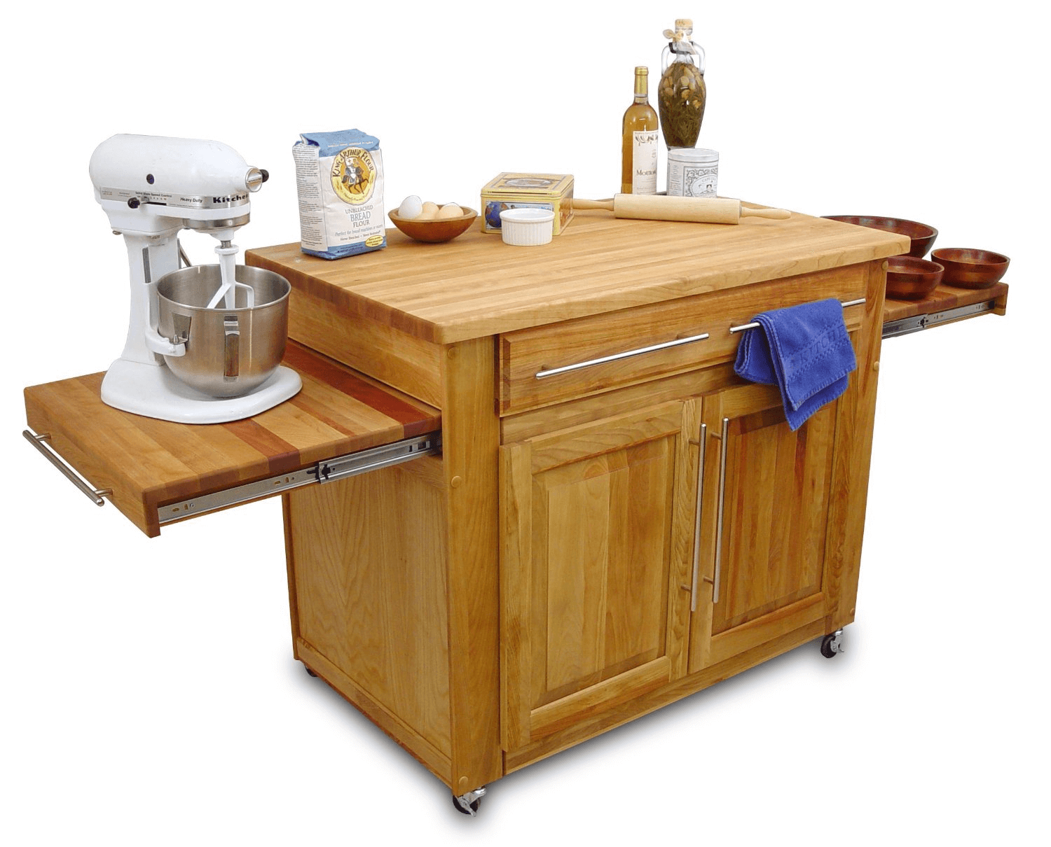 The Jaw-Dropping Easiness: Kitchen Island On Wheels With