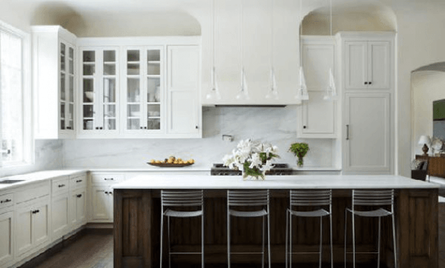 Nice idea kitchen cabinets doors white