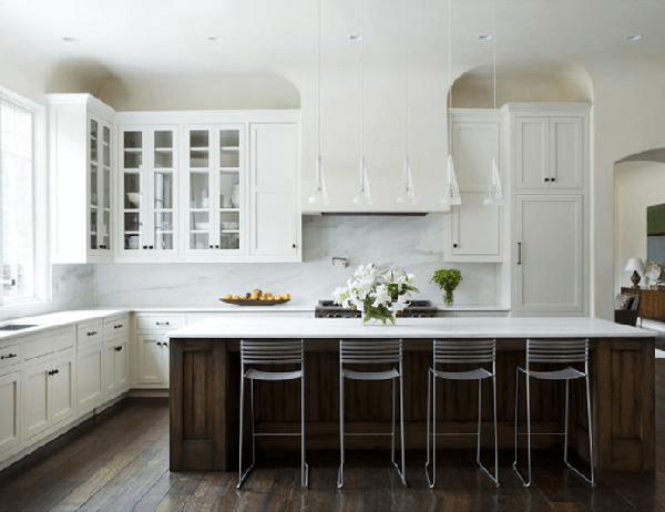 Nice idea kitchen cabinets doors white