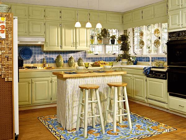Paint kitchen cabinet glaze colors