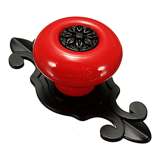 What type of cabinets door knobs do you prefer - Red kitchen cabinet knobs ...