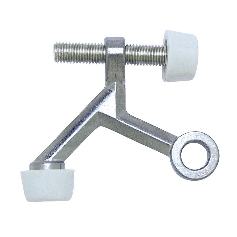 Satin Nickel Light Duty Hinge Pin Door Stopper