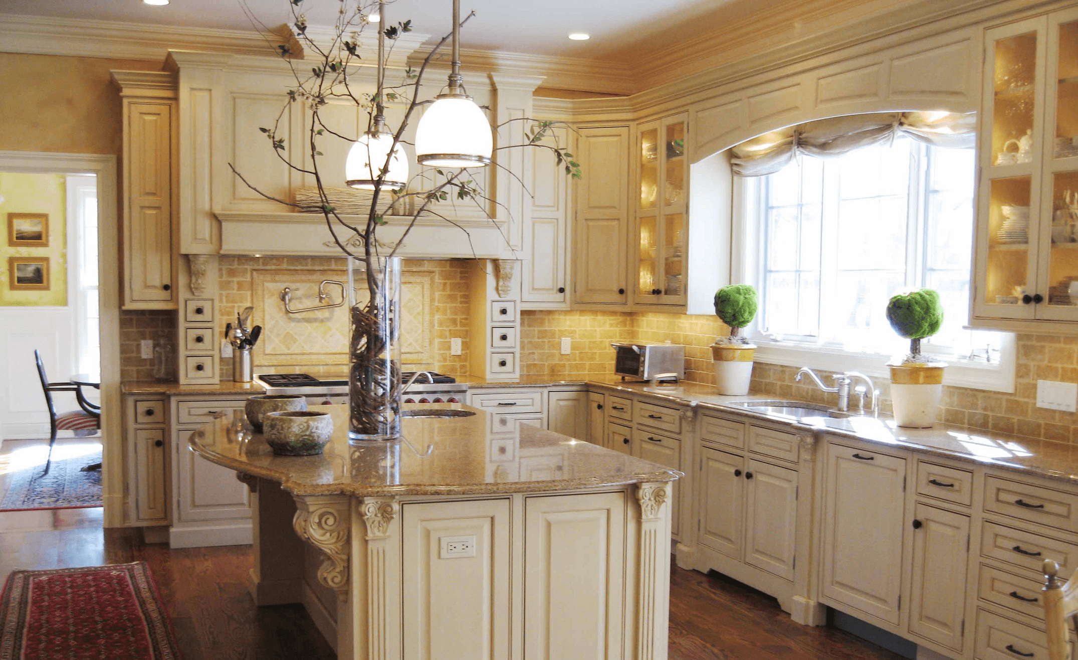 Tuscan modern and traditional combination style decoration