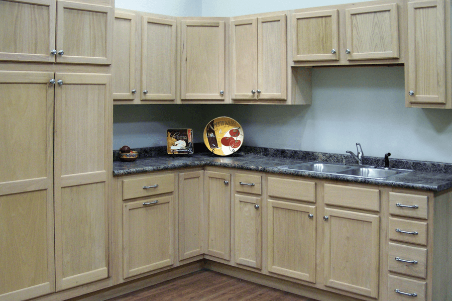 How to Finish Unfinished Kitchen Cabinets