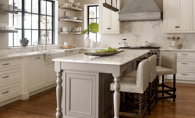 Kitchen Island Legs how to get an ideal kitchen island overhang