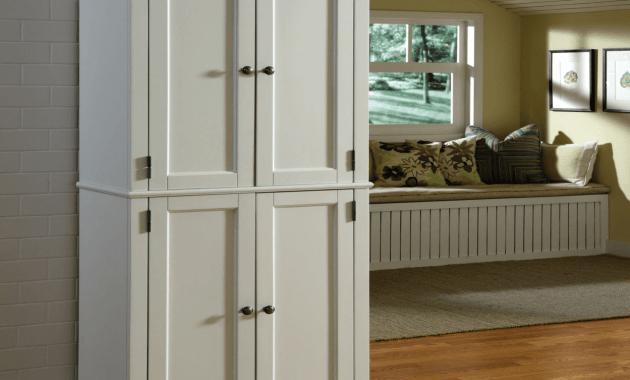 White kitchen storage cabinets target
