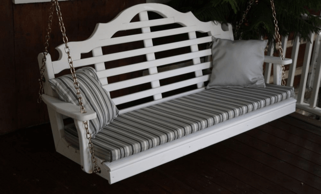 5ft porch swing cushion