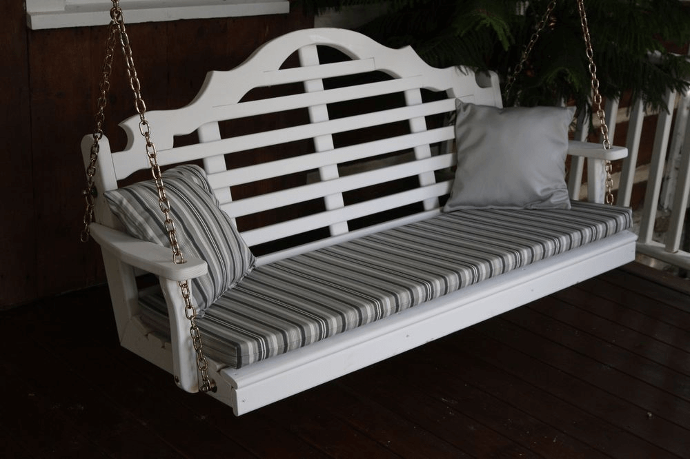 5ft porch swing cushion