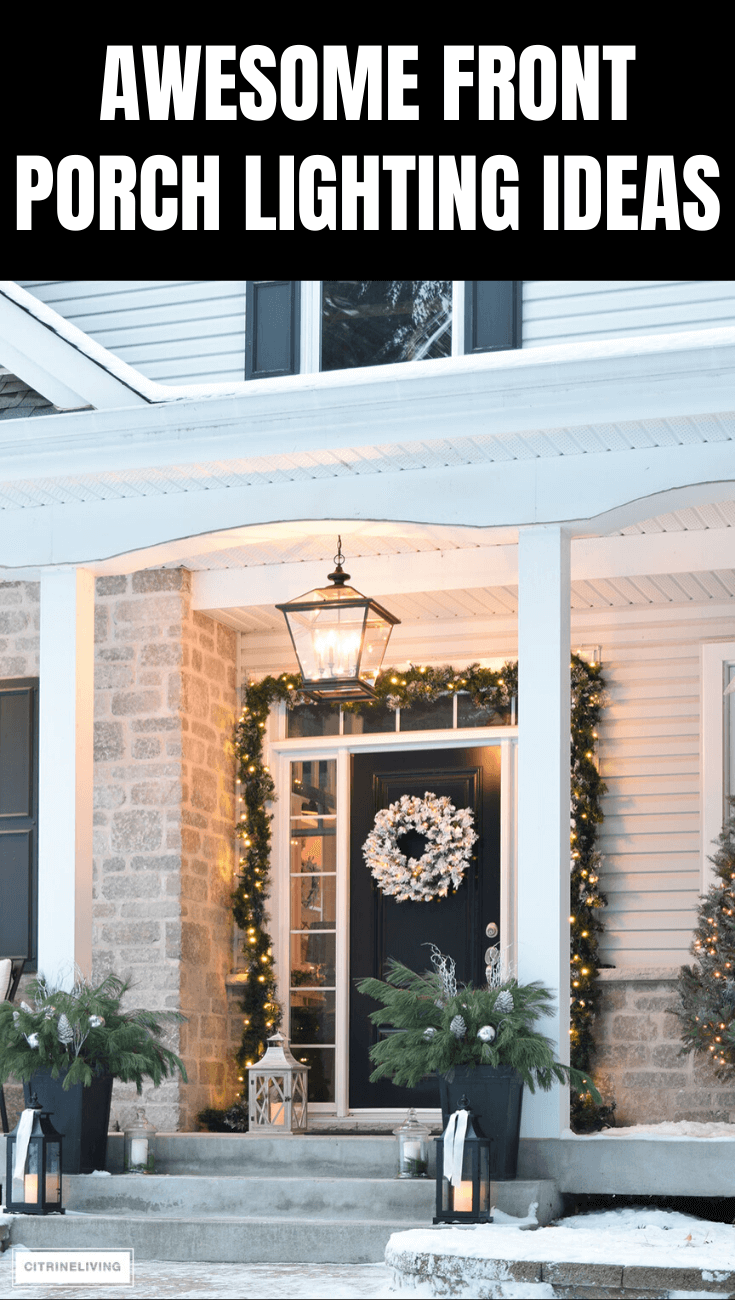 AWESOME FRONT PORCH LIGHTING IDEAS