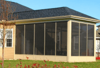Aluminum Screened in Porch Panels