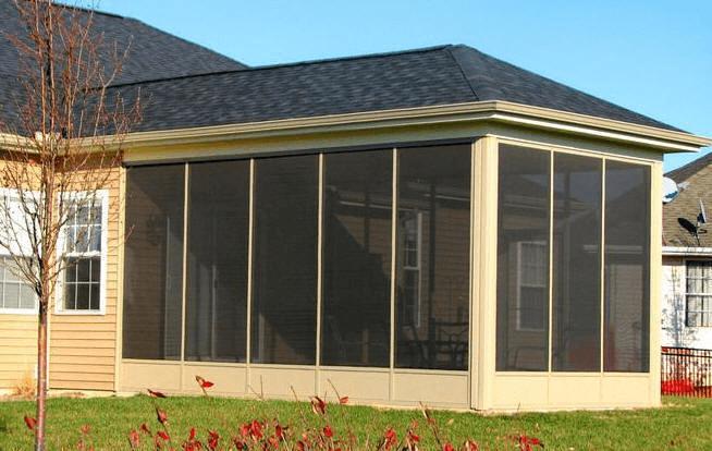 Aluminum Screened in Porch Panels