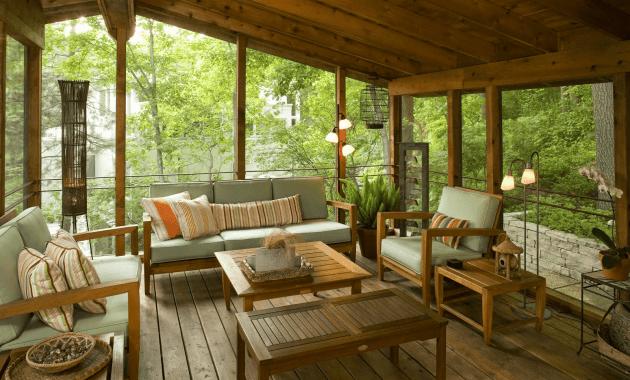 Back Porch Enclosure Ideas