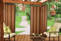Bamboo Porch Curtains