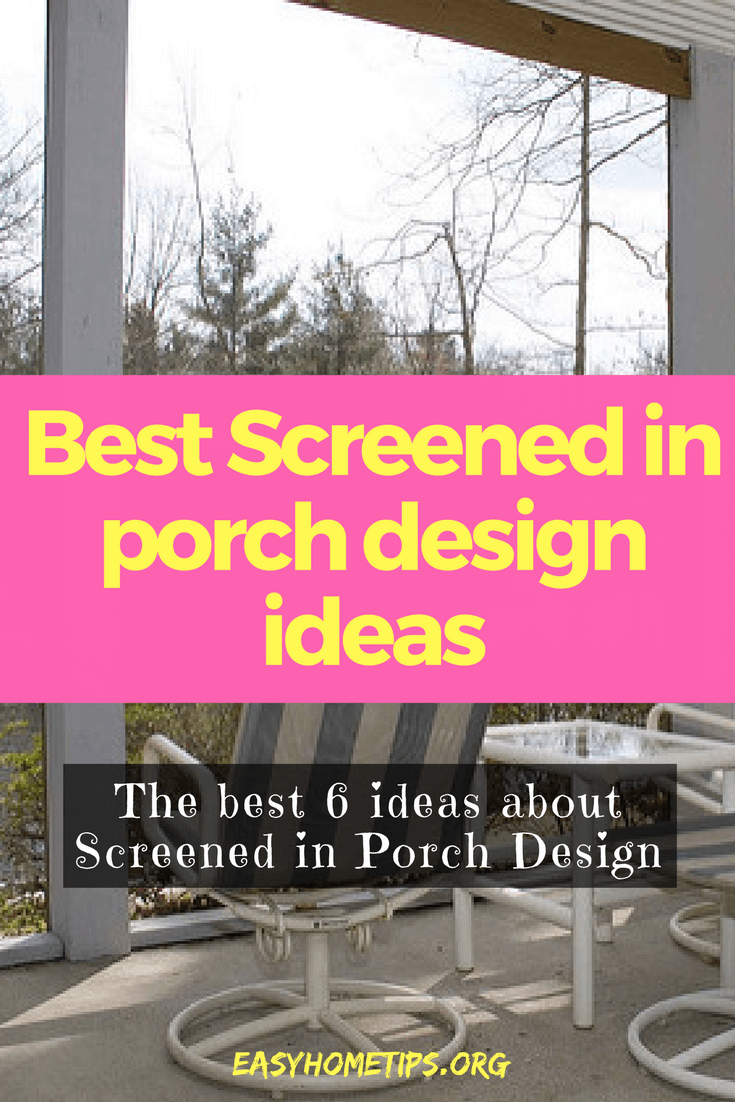 Best Screened in porch design ideas