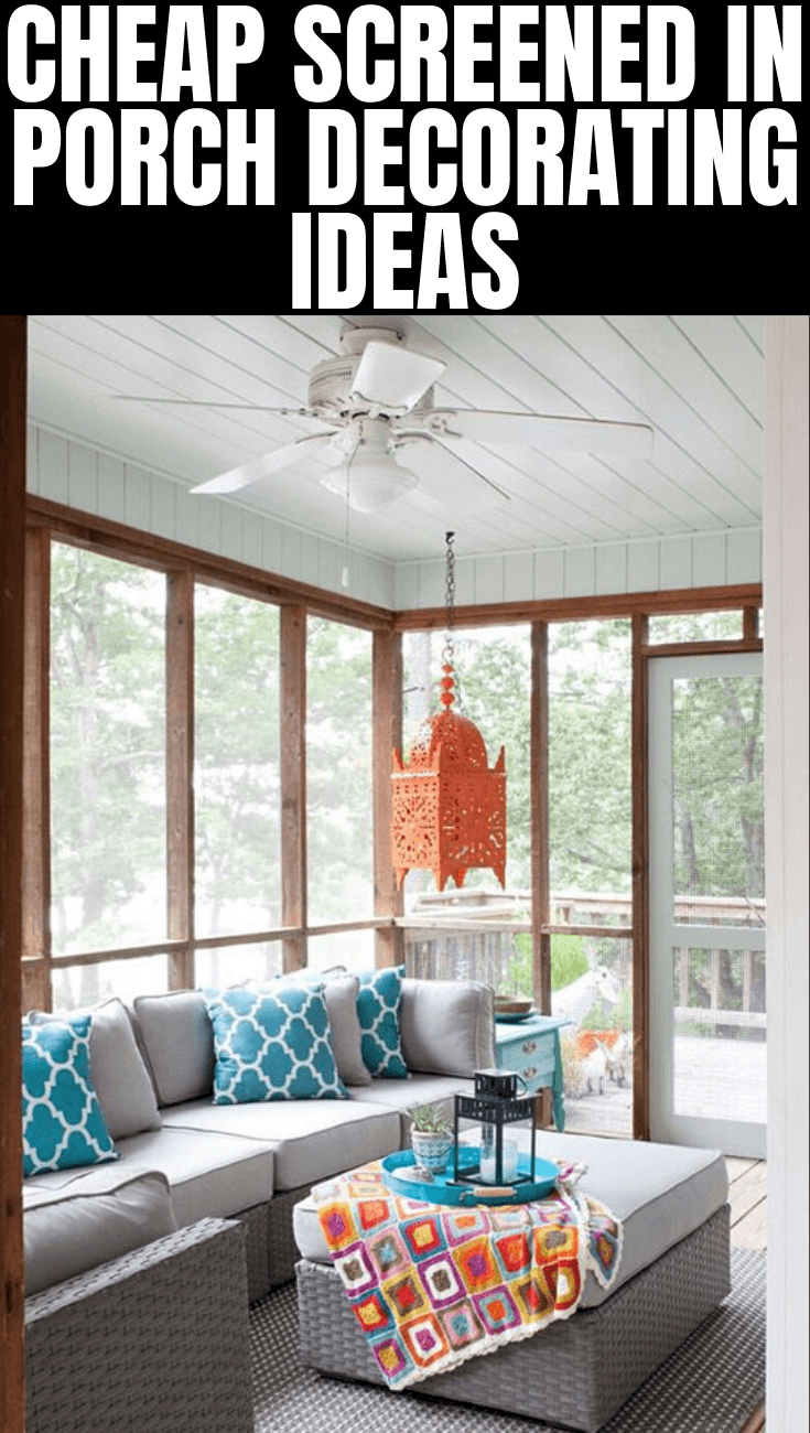 CHEAP SCREENED IN PORCH DECORATING IDEAS (1)