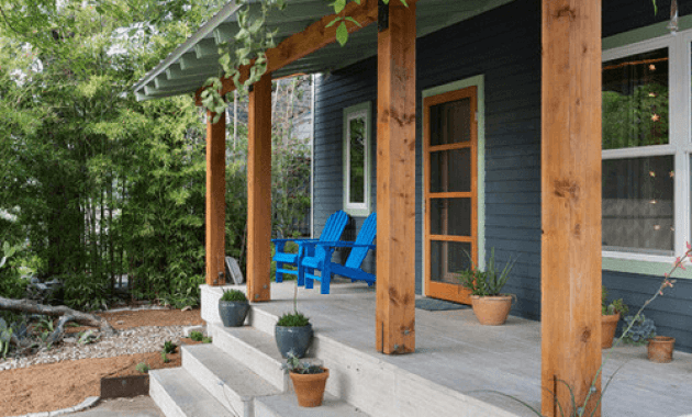 Contemporary Cedar Porch Post Wraps Easyhometips Org