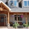 Front Porch Columns using Wooden Material