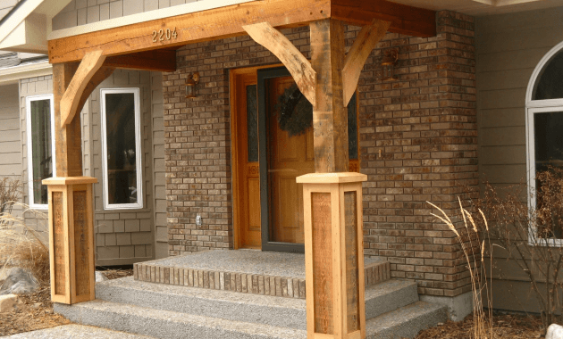 Front Porch Column Brackets