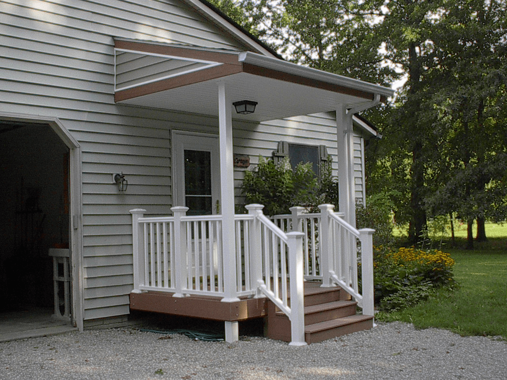 Front porch covers small
