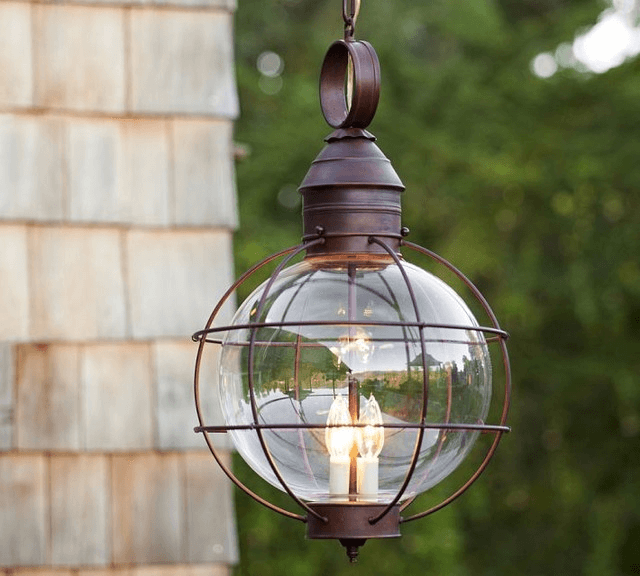 Front porch hanging light fixtures