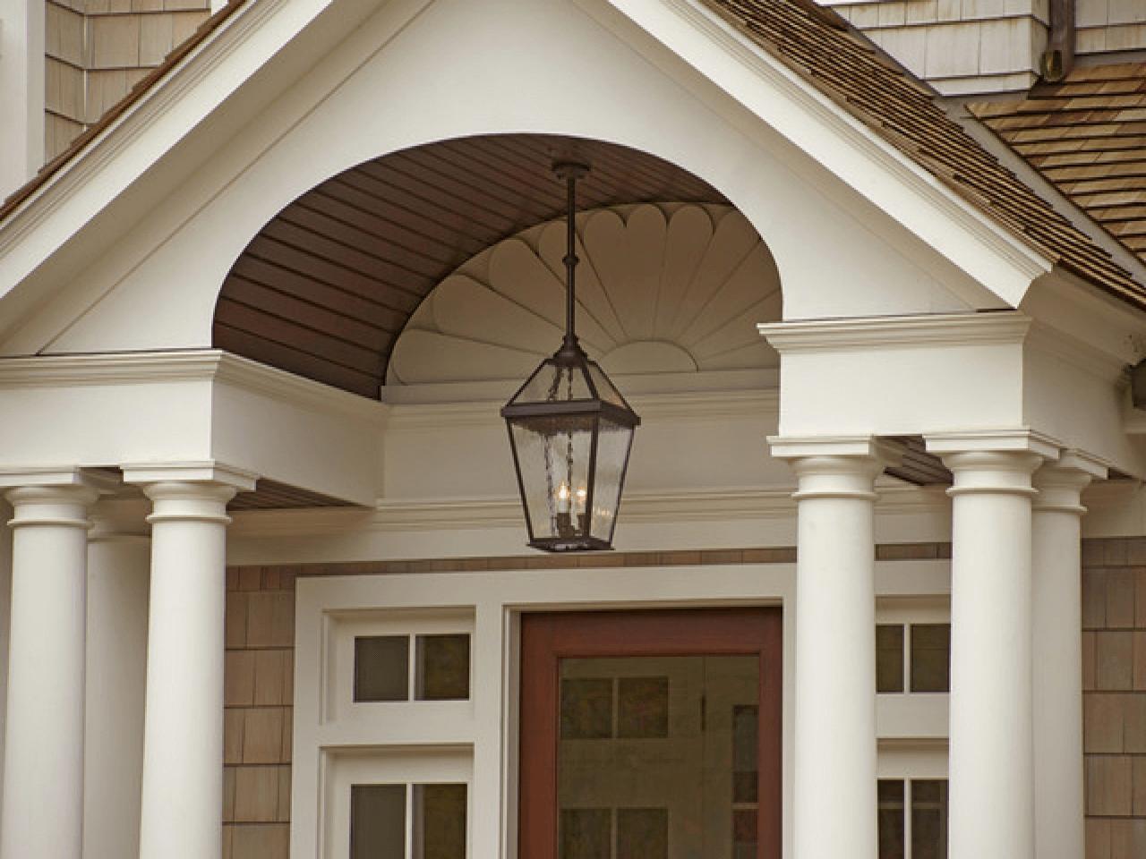 Front porch pendant lights