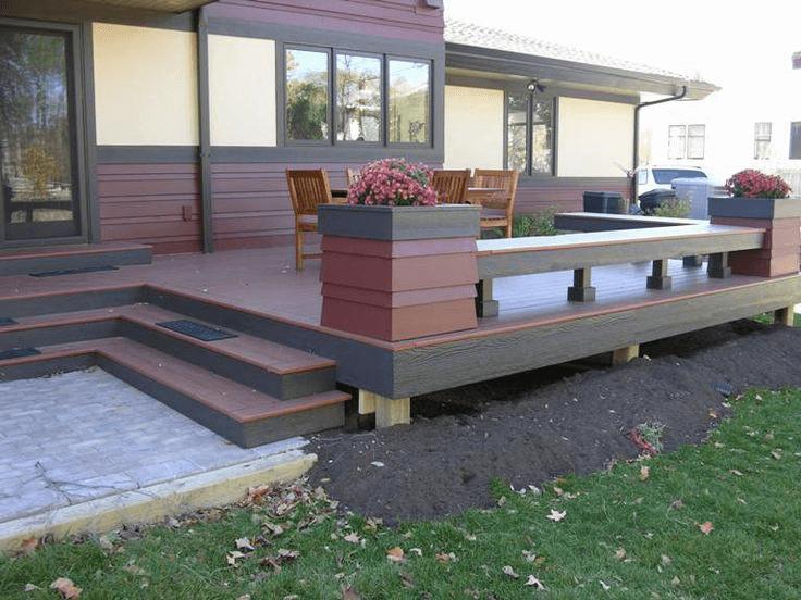 Gossen porch flooring