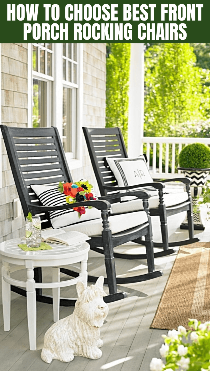 HOW TO CHOOSE BEST FRONT PORCH ROCKING CHAIRS